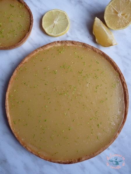 Tarte au citron style lemon curd