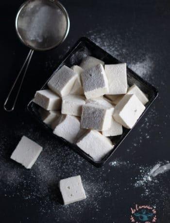 Guimauves à la vanille (sans oeufs)