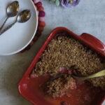 Croustade rhubarbe & fraises