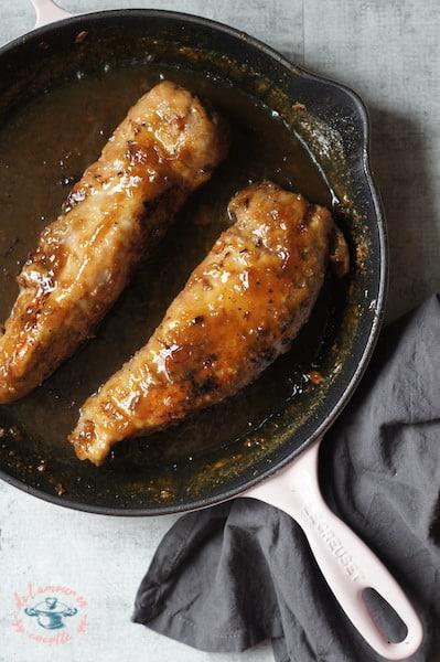 Filet de porc à l'érable