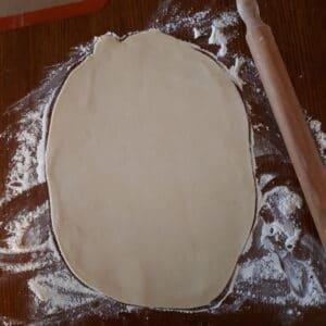 Pâte étalée