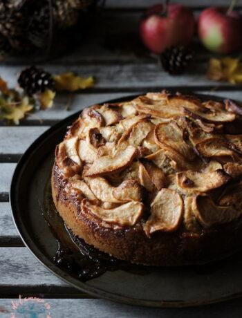 Gâteau aux pommes & huile d'olive