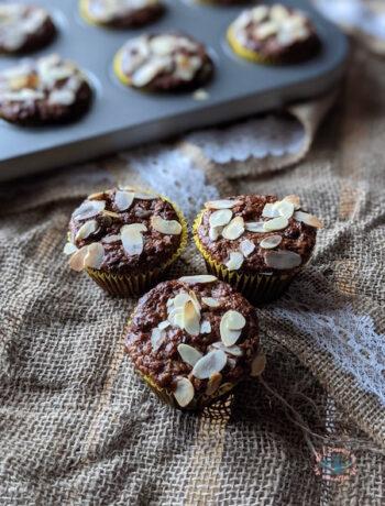 Muffins banane amande